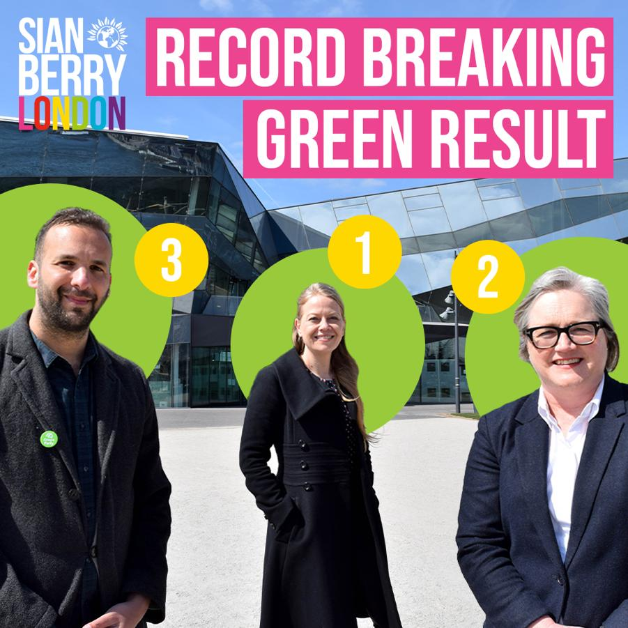 Record breaking green result